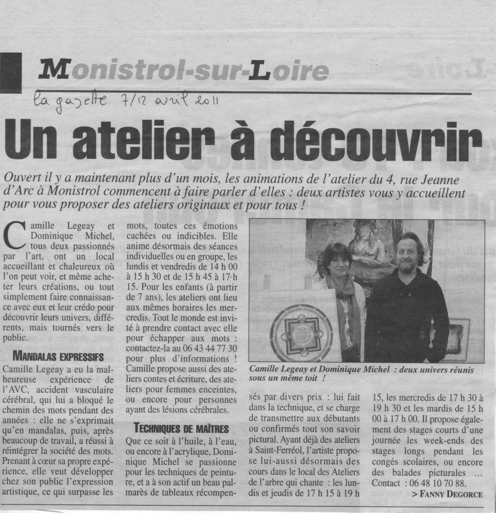 La Gazette 12 04 2011
