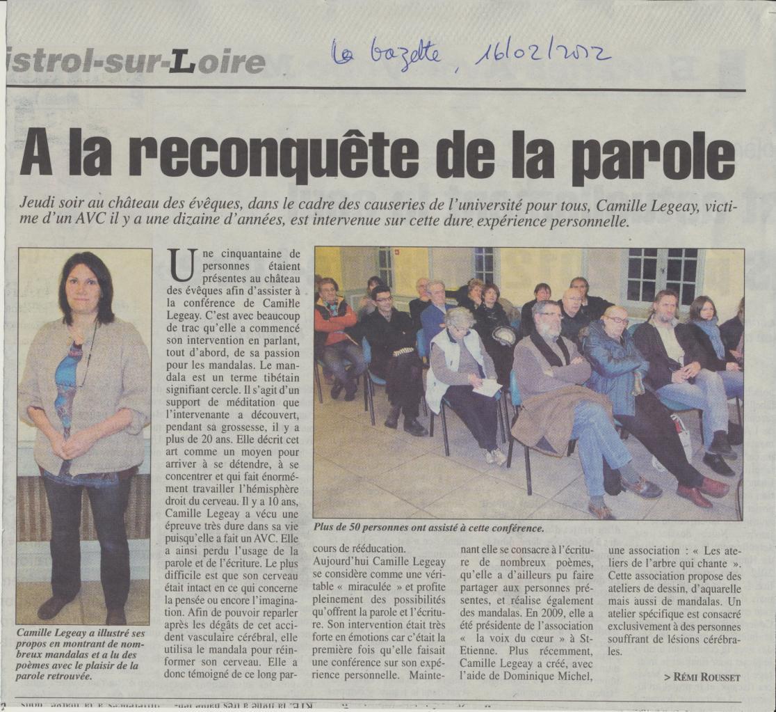 La Gazette 16 02 2012